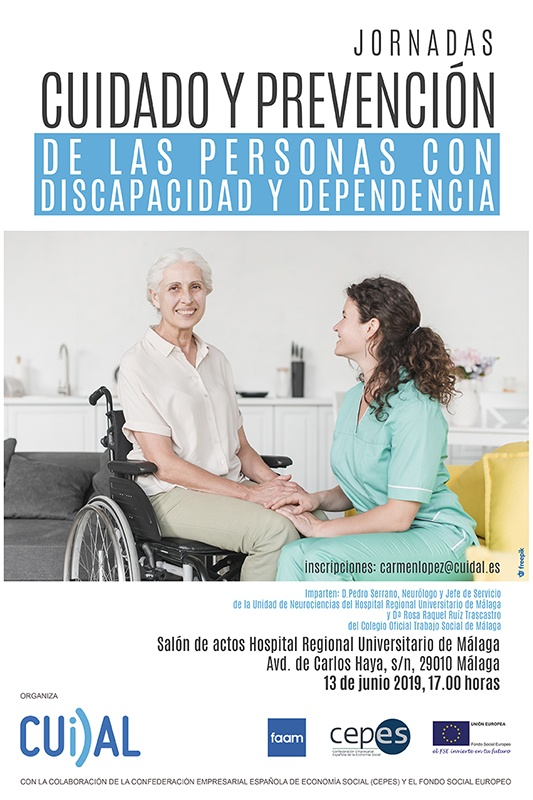 Jornada cuidado y prevención de las personas con discapacidad y dependencia